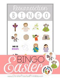 Easter / Resurrection Bible Bingo Game via @craftyclassroom