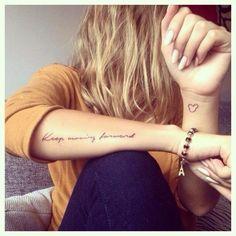 121 Trending Forearm Tattoos & Meaning Forearm tattoo tatuagem tatuagem cascavel tatuagem de rosa tatuagem delicada tatuagem e piercing manaus tatuagem feminina tatuagem moto clube tatuagem no joelho tatuagem old school tatuagem piercing tattoo shop Girly Tattoos, Wörter Tattoos, Quote Tattoos Girls, Trendy Tattoos, Small Tattoos, Tiny Tattoo, Tatoos, Disney Quote Tattoos, Mickey Tattoo