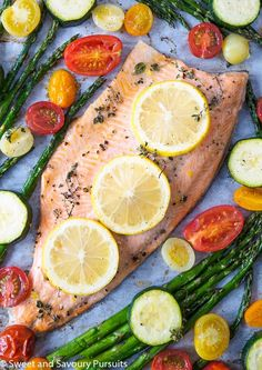 A healthy and simple recipe for Baked Rainbow Trout Fillet that. A healthy and simple recipe for Baked Rainbow Trout Fillet that can be prepared and cooked in under 30 minutes! Fish Dishes, Seafood Dishes, Fish And Seafood, Seafood Recipes, Dinner Recipes, Cooking Recipes, Healthy Recipes, Cooking Games, Simple Recipes
