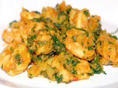 Recette - Crevettes aux herbes et aux épices Aujourd'hui une recette avec des crevettes. Elles sont une excellente source de protéines, de potassium et magnésium et elles sont délicieuses.