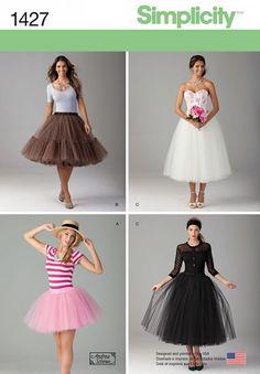 Simplicity 1427 - Petticoat