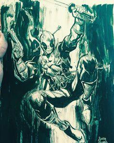 Deadpool by Ryan Stegman *