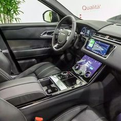 Source 2018 NEW CAR SUV VELAR Land Rover Range Rover VELAR S 2.0 ingenium diesel 4 cylinder 180 HP Santorini Black N1179 on m.alibaba.com Used Luxury Cars, Luxury Cars For Sale, 40ft Container, Range Rover Supercharged, Range Rover Sport, Car In The World, Rear Seat, Santorini, Car Accessories