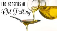 Oil pulling is a new fad that is said to improve oral health, the lymphatic system and even cure hangovers. What is oil pulling? Is it really helpful or just plain gross. Health And Beauty, Health And Wellness, Oral Health, Teeth Health, Dental Health, Oil Pulling Benefits, Coconut Oil Pulling, Natural Healing, Fun To Be One