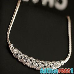 Amazing ShanZuan dress short necklace