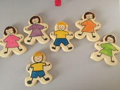 """Cookies for """" the quints"""" and their big brother to give to one of the home nurses on her last day with them."""