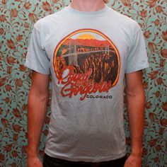 Royal Gorgeous Colorado Tshirt by RomancingTheGhost on Etsy, $11.22