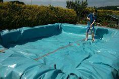 Planen, einen Swimmingpool mit Paletten bauen 4