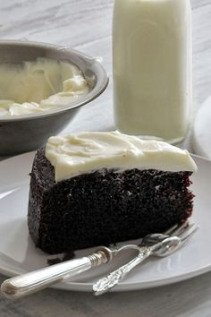 For me, a chocolate cake is the basic unit of celebration. The chocolate Guinness cake here is simple but deeply pleasurable, and has earned its place as a stand-alone treat. (Photo: Suzy Allman for The New York Times)