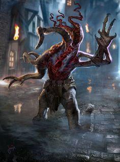MTG- Eldrazi Horror Token by jason-felix on DeviantArt