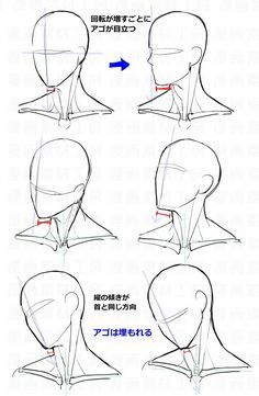 Anatomy Drawing Tutorial You Can Enjoy drawing tips With These Tips Drawing Heads, Body Drawing, Anatomy Drawing, Drawing Faces, Male Face Drawing, Neck Drawing, Head Anatomy, Anime Face Drawing, Anatomy Art