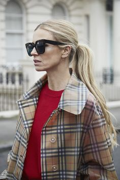 UVA/UVB protection sun lenses by Christian Dalloz Cridal. Edith Bouvier Beale, Laura Bailey, Vogue Uk, Jackie Kennedy, Burberry, Parisian Style, Style Me, Street Style, Style Inspiration