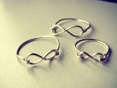 DIY Infinity Ring ! I Love Mine ! Totally Cute And Trendy