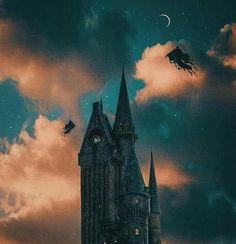 Dementors over Hogwarts