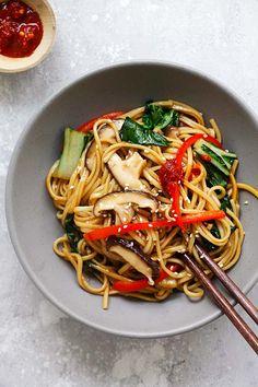 Vegetable Lo Mein {The BEST Recipe!}   Rasa Malaysia