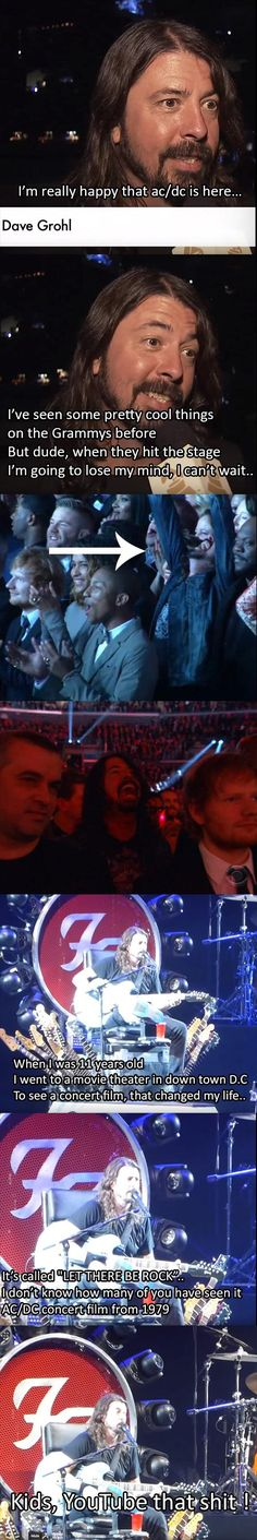 So.. Dave Grohl is a big AC/DC fan - Imgur