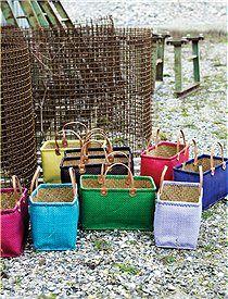 Strandtasche Gutes Fassungsvermögen: Dieser schöne Einkaufskorb schafft jede Menge weg, wir bieten den Korb in vielen, tollen Farben an. 26,50 Euro NORDAL über Car-Moebel.de
