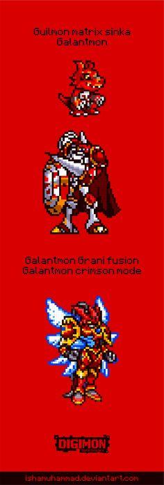 Guilmon evolutionline