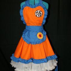 Goku Dragon Ball Z Cosplay Pinafore Apron Dress Accessory | Darling Army