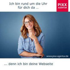 Ich bin rund um die Uhr für dich da … denn ich bin deine #Webseite  Präsentieren sie ihr Unternehmen 24 Stunden im #Web mit der besten  #Performance.  www.pixx-agentur.de/webseiten-gestaltung/