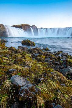 The Waterfall of the Gods, Skjálfandafljót river, Iceland