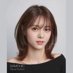 Medium Hair Cuts, Short Hair Cuts, Medium Hair Styles, Long Hair Styles, Haircuts For Long Hair Straight, Shoulder Haircut, Korean Short Hair, Shot Hair Styles, Hair Dye Colors