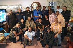 FESTAC '77 Reunion, Los Angeles, July 2016, with Gregory Vaughan, Christy Smith, Cheryl Cooley, Lonnie ChipStarr Greene, Troy Robinson Frederick Dotson, Louis Thomas, Kenneth Meredith, Gay Brown, Kayo Carter, Harvey L. Estrada Alford R Jackson, James Speed Jr, Kevin Davis, Stanley H Freeman and Henry Adam Prejean.