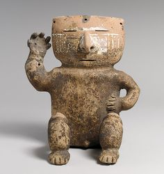 Seated Figure, 13th–16th century  Colombia; Quimbaya