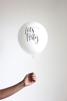 About the balloons We love balloons, but the options in most party stores are lacking and we've worked really hard to create fun and pretty printed balloons for your celebrations. These bold balloons are sure to make your bridal shower, birthday party and celebratory events. Contains ( 3 )