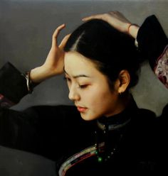 By Zhao Kailin, from China (current location, California) - Oil Painting - http://kailart.com/