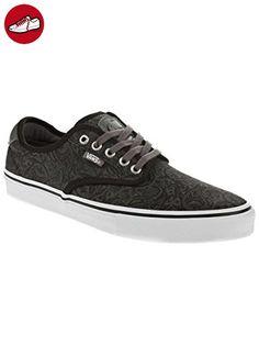 Vans Skatezapatos Rowley Pro Gris Negro Herren Skatezapatos Vans Sneaker Hombre skate Zapatos 27e6b0