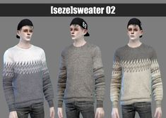 Sweater 02A at Seze via Sims 4 Updates