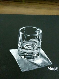 glass of water sketch with oil pastel colors. Water Sketch, Oil Pastel Colours, Oil Pastel Paintings, Water Glass, Brush Strokes, Shot Glass, Art Ideas, Sketches, 3d