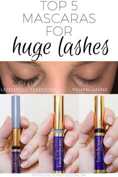 Want huge voluminous lashes with out having to shell out the money for expensive extensions that don't last?  I've put together a list of my top 5 favorite mascaras to build length and volume PLUS most of them are cruelty free and vegan friendly!   #makeup #mascara #volumizingmascara #hugeeyelashes #lashes #veganbeauty #crueltyfreemakeup