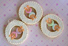Twin cookies   by Three Honeybees, via Flickr