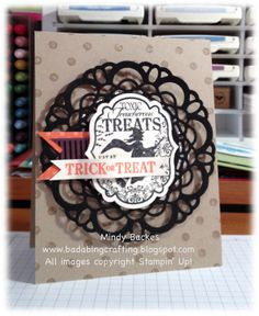 Stampin' Up! Halloween  by Mindy Backes