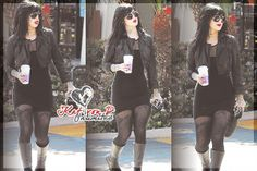 I love it when Kat von D has bangs <3 February 21st, 2014