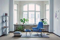 Een Scandinavisch interieur met blauwtinten - Roomed