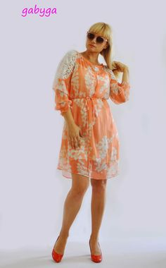 Silk short dress/Prom rose dress/Handmade by Gabygaclothes on Etsy