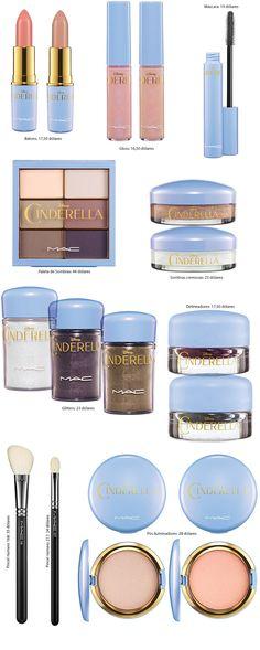 Coleção Cinderela para a Mac Cosmetics!