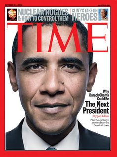 Time mag cover from 2008...