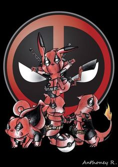 Deadpool's pokemon
