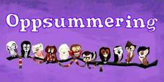 Oppsummering juli Terry Pratchett, Margaret Atwood, Haruki Murakami, Neil Gaiman, Edgar Allan Poe, Juni, Doctor Who, Mars, About Me Blog