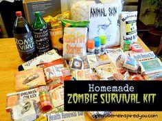 A Walking Dead Zombie Christmas - CreativeMeInspiredYou.com