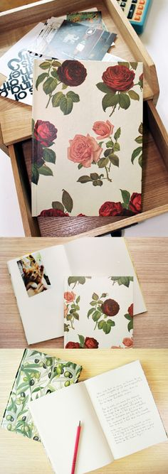 The Florence A5 Plain Notebook is elegant and beautiful, just like you! The matte coated hard cover helps to protect the contents inside which are 128 pages of light ivory plain note and 32 pages of yellow plain note!