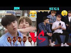 The differences between JIN and SUGA (진 & 슈가 BTS) - YouTube Billboard Music Awards, Guinness, Justin Bieber, Bts Youtube, Album, Antara, Korean Music, Worldwide Handsome, Namjin