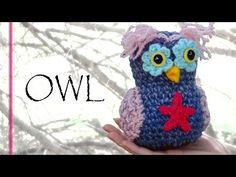 Whimsical Crochet Owl Tutorial - Crochet Along Pattern! - YouTube