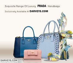 Get your share of the perfect arm candies from our Unparalleled collection of #Prada #handbags.  Shop now @Darvyes.com