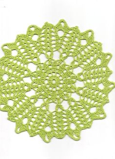 Christmas gift Crochet doily lace doilies table by DoilyWorld, £3.00