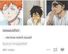 Nervous wreck squad